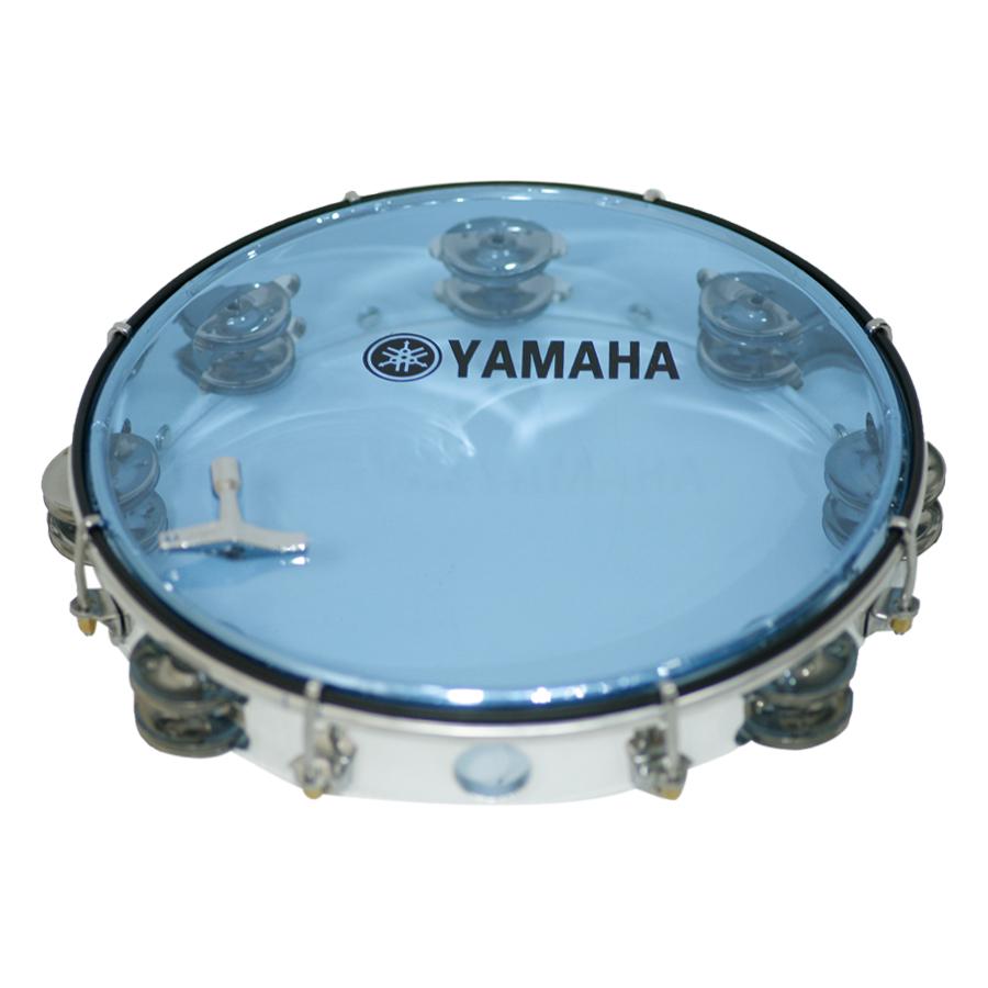 Trống Lắc Tay - Lục Lạc Gõ Bo Tambourine Yamaha MT6-102B - Xanh