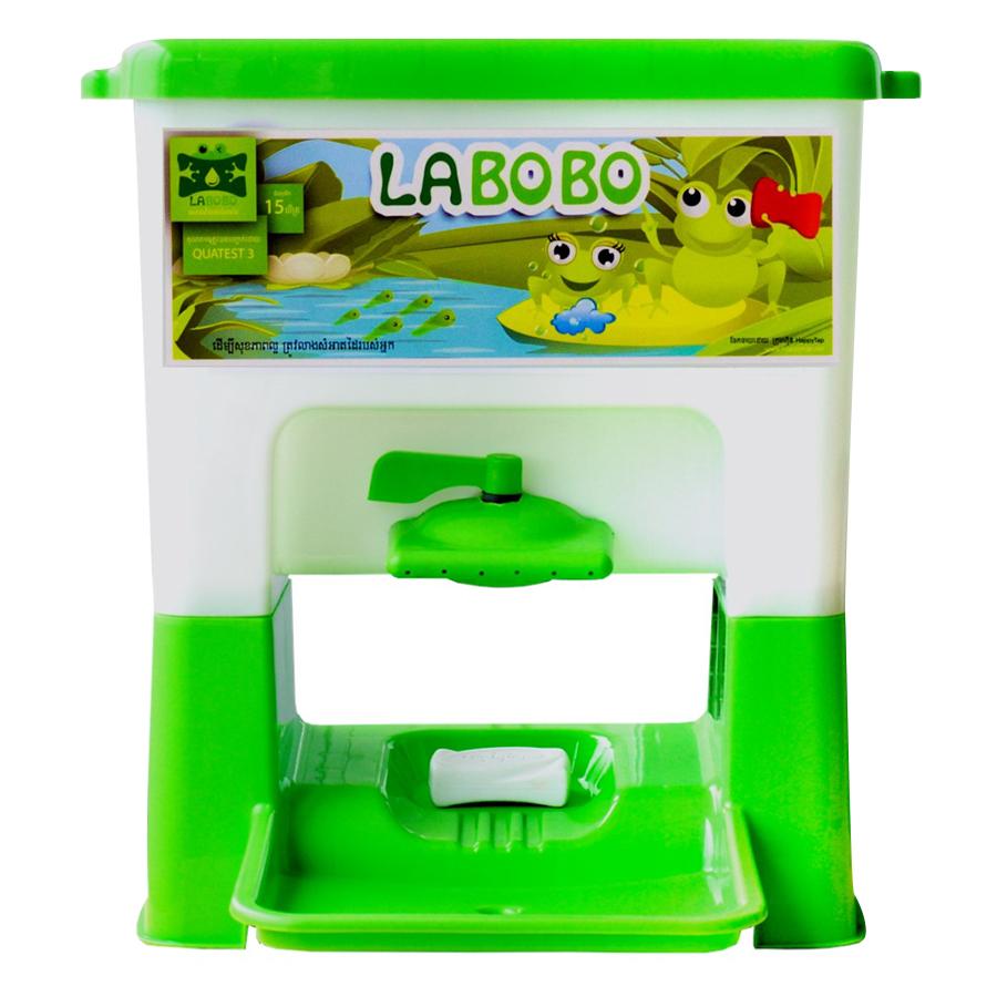 Lavabo Di Động Cho Trẻ Em LABOBO - Xanh