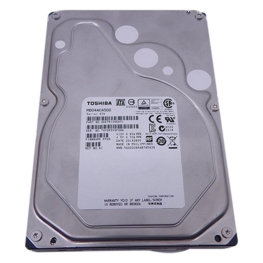 Ổ Cứng HDD Toshiba 5TB/64MB/7200rpm/3.5 - MD04ACA500 - Hàng Chính Hãng