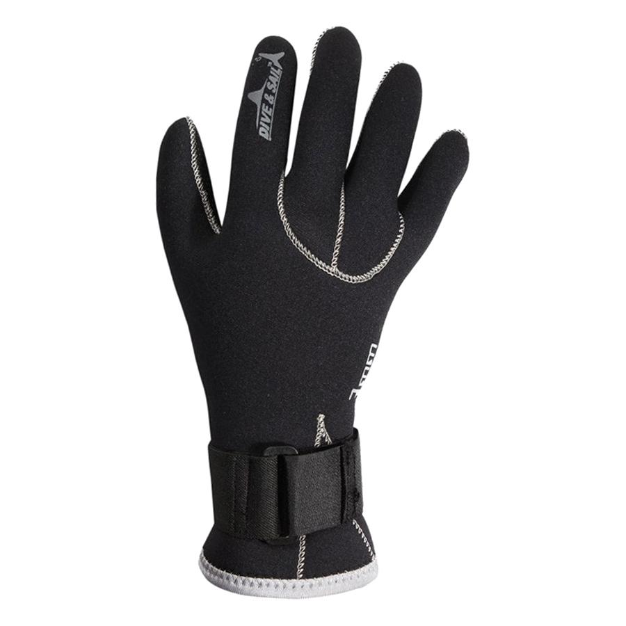 Găng Tay Lặn Biển Chống Trượt Và Giữ Ấm 3mm Size 2in1 Popo Sport Diving-Glove-M - Size M