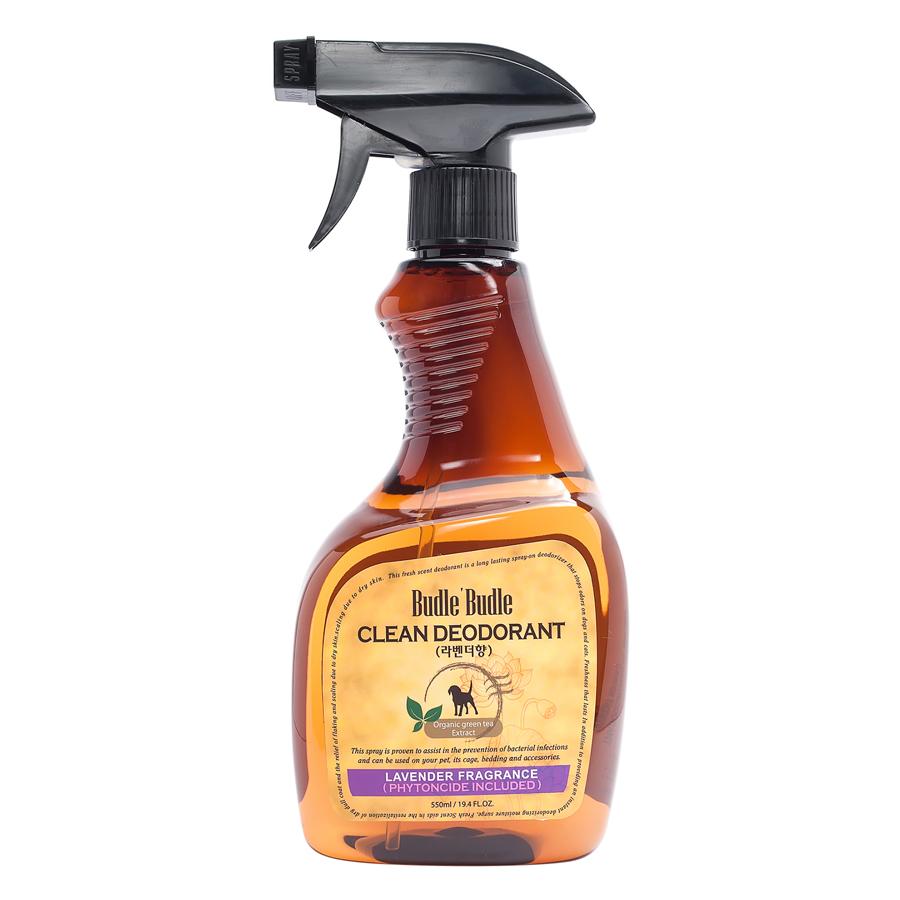 Xịt Khử Mùi Dưỡng Lông Budle'Budle Lavender BB110 (530ml)