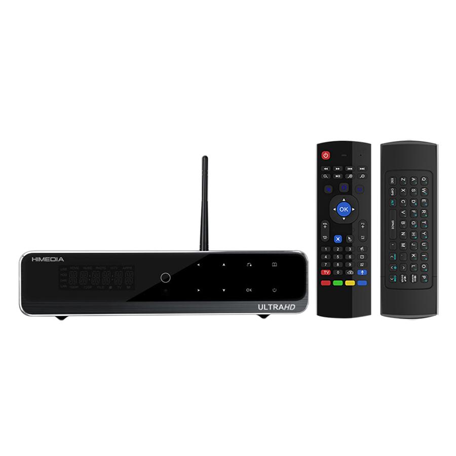 Android TV Box Himedia Q10 Pro Và Chuột Bay Airmouse - Hàng Chính Hãng