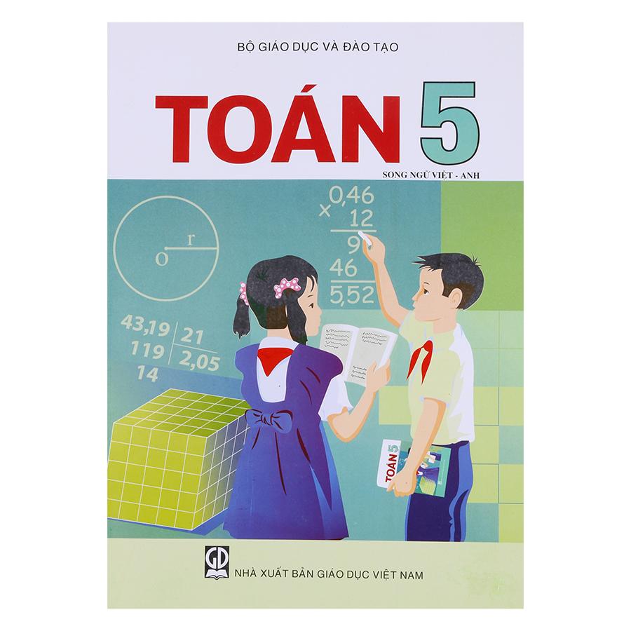 Sách Toán Lớp 5 (Song Ngữ Việt - Anh)