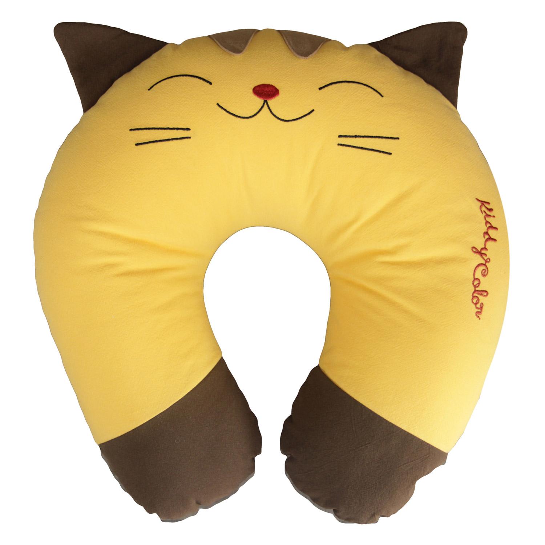 Gối Tựa Cổ Hình Con Mèo Thắng Lợi
