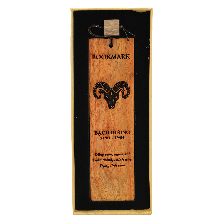 Bookmark Hộp Giấy Cung Hoàng Đạo - Bạch Dương