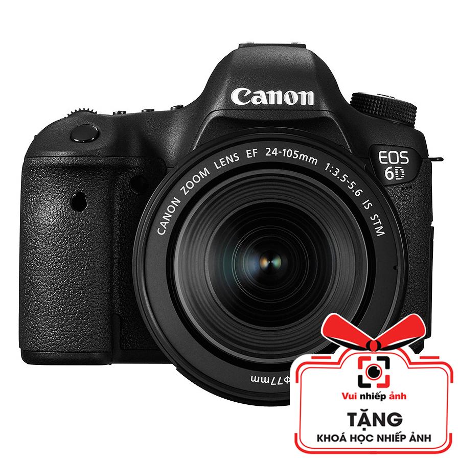 Máy Ảnh Canon 6D + Lens 24-105mm f/3.5-5.6 STM (Lê Bảo Minh)