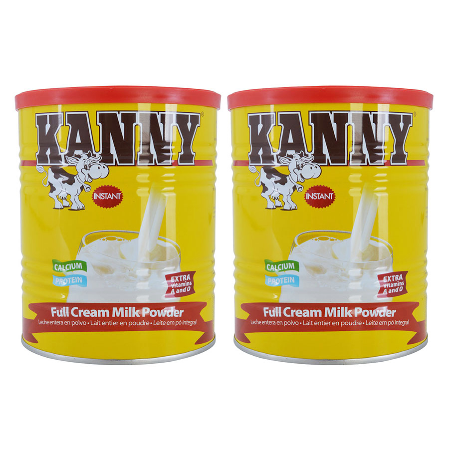 Combo 2 Hộp Sữa Bột Nguyên Kem Kanny 28% Chất Béo (400g / Hộp)