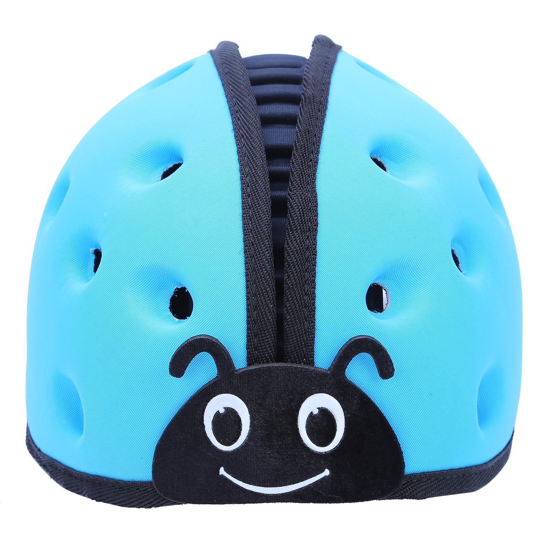 Mũ Bảo Vệ Đầu Cho Bé Mumguard Hình Bọ Cánh Cam - Xanh