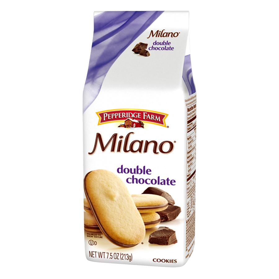 Bánh Milano Hai Lớp Socola Pepperidge Farm (213g)