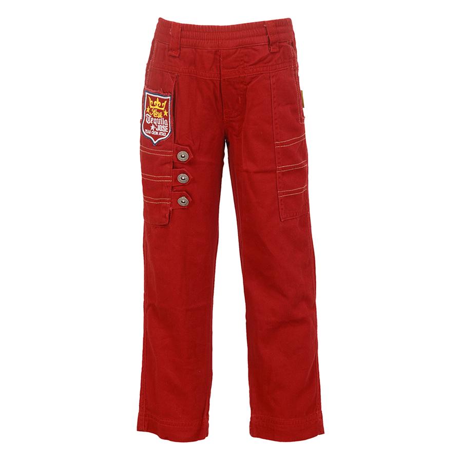 Quần Kaki Bé Trai YF 3QY114 - Đỏ