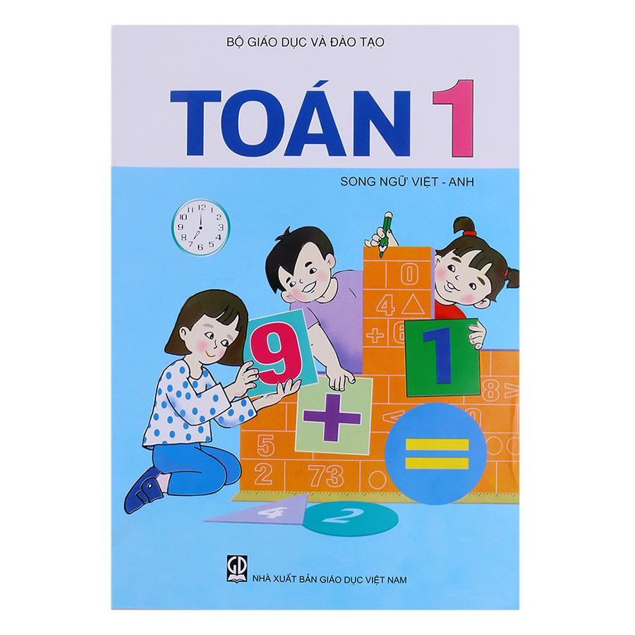 Toán Lớp 1 (Song Ngữ Việt - Anh)