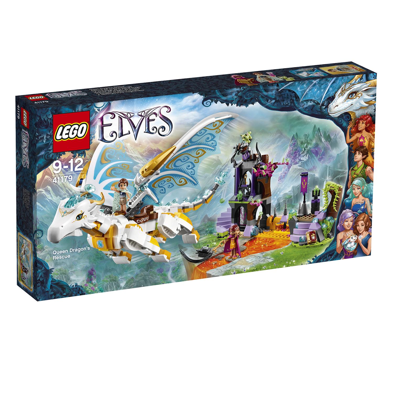 Mô Hình LEGO Elves - Giải Cứu Nữ Hoàng Rồng 41179 (833 Mảnh Ghép)