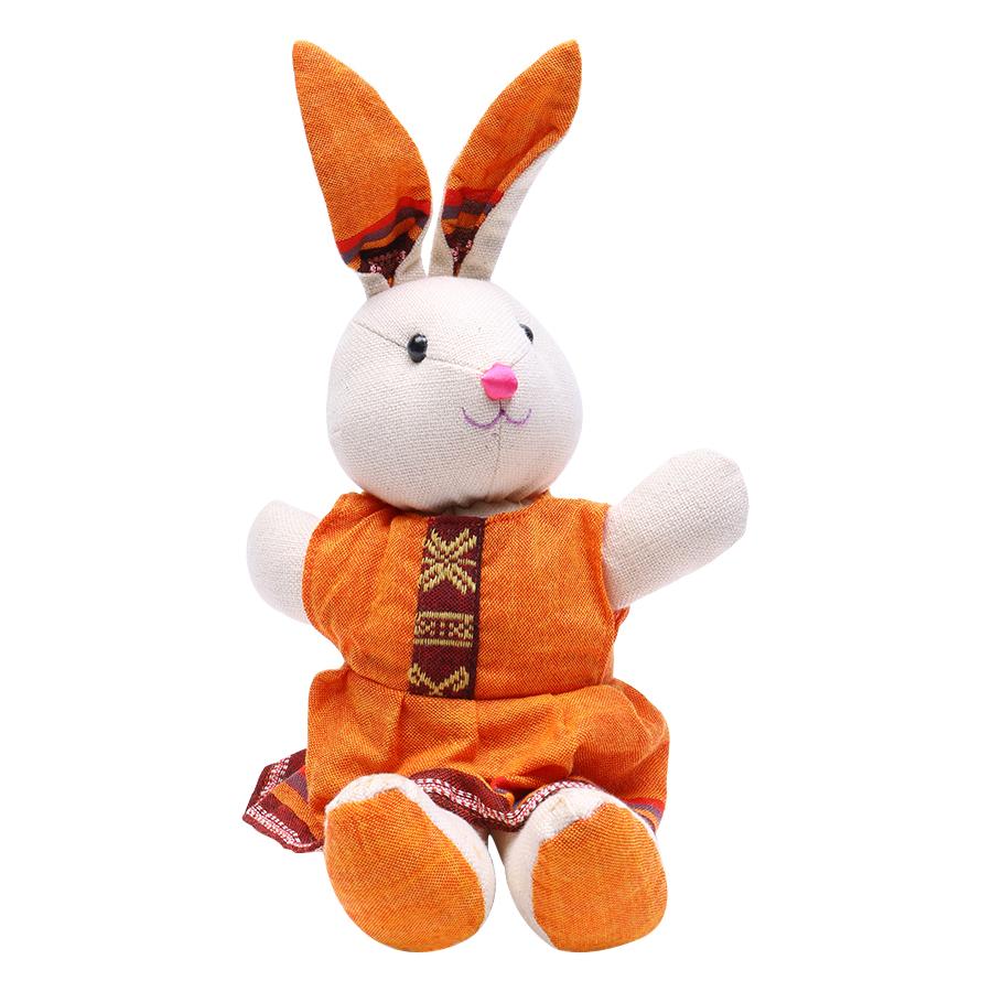 Thỏ Thổ Cẩm Dệt Tay