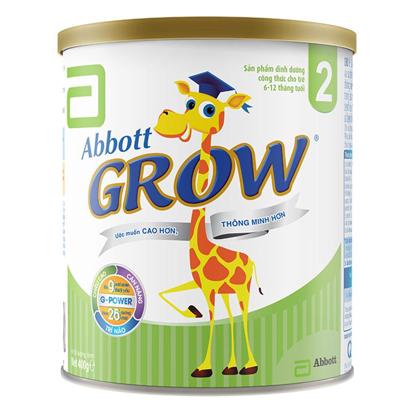 Sữa Bột Abbott Grow 2 AG2S (400g)
