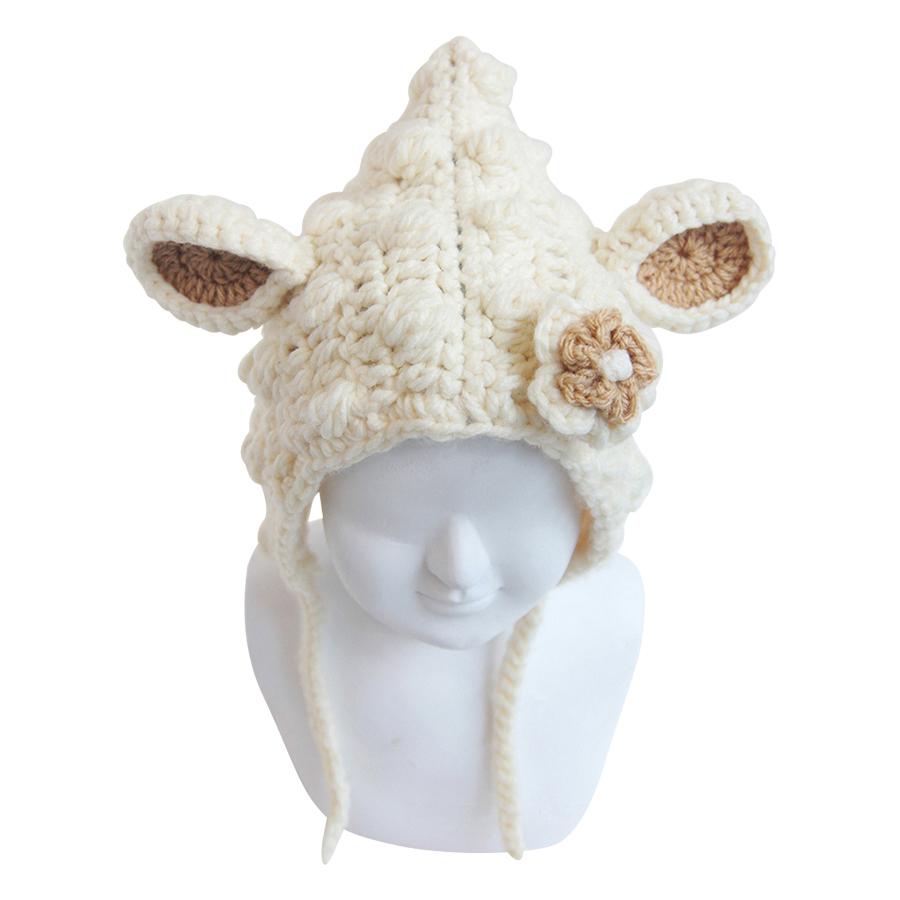 Nón Cừu Bobi Craft BA-002-WHI