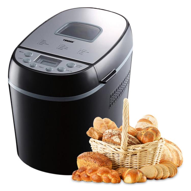 Máy Làm Bánh Mì Tiross 12 Chức Năng TS822
