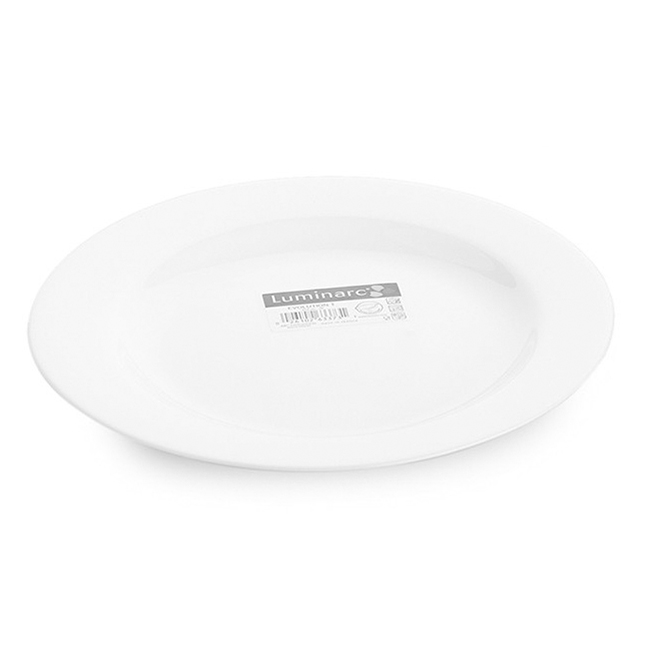Đĩa Thủy Tinh Luminarc Evolution Peps Dinner 63373 (25.5cm)