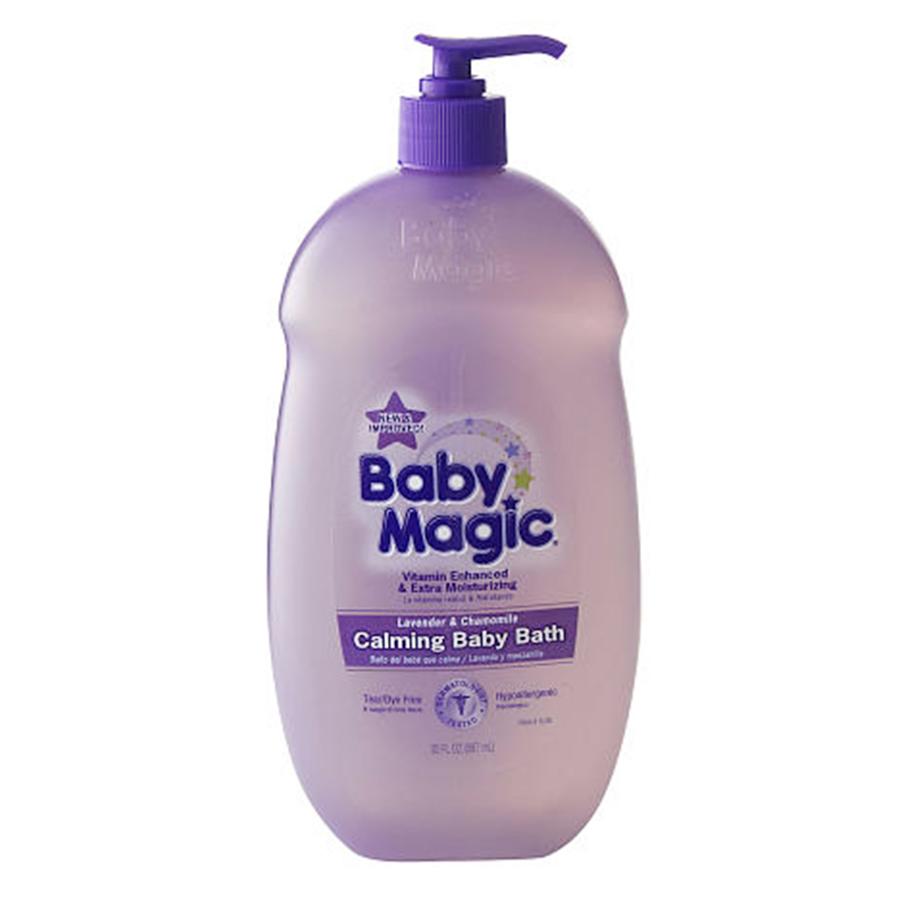 Dầu Tắm Gội Chung Baby Magic Hương Lavender Và Chamomile (887ml)