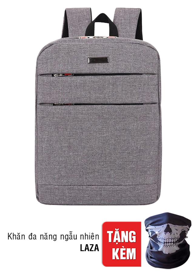 Balo Laptop Nam Oxford LAZA BLTK282 (30 x 43 cm) + Tặng Kèm Khăn Đa Năng Ngẫu Nhiên KTK001