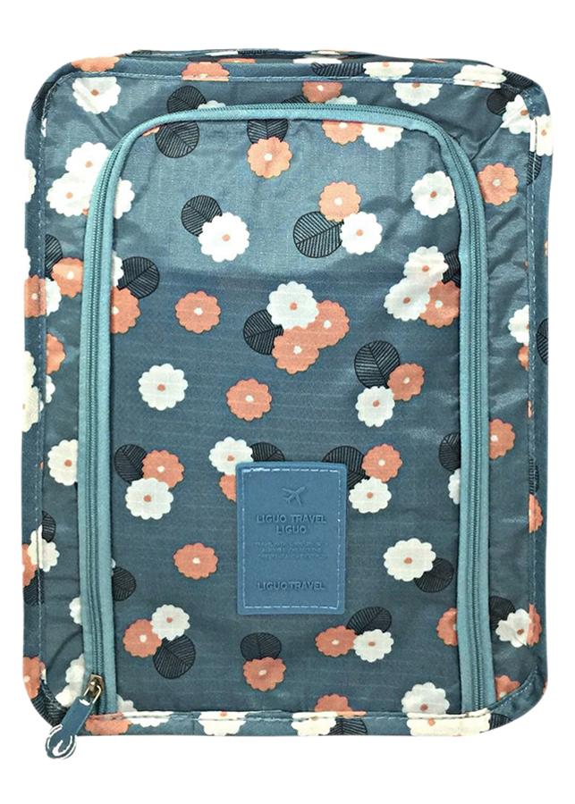 Túi Đựng Giày Xách Tay Chống Thấm Nước Thành Nam TNTT0153 (30 x 21 cm) - Xanh