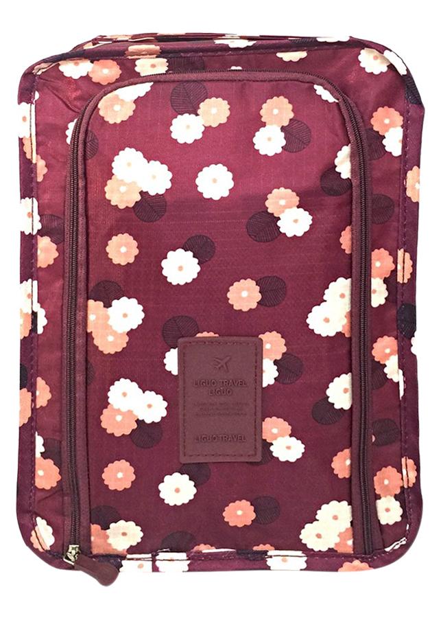 Túi Đựng Giày Xách Tay Chống Thấm Nước Thành Nam TNTT0151 (30 x 21 cm) - Tím