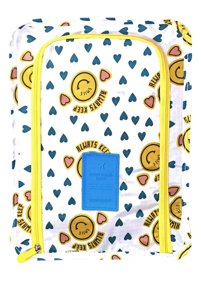Túi Đựng Giày Xách Tay Chống Thấm Nước Thành Nam TNTT0152 (30 x 21 cm) - Vàng