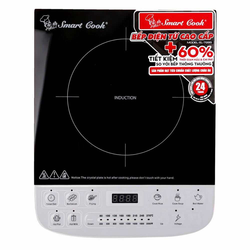 Bếp Điện Từ Smartcook ICS-7285 - 2357285 (Hoa Văn Ngẫu Nhiên)