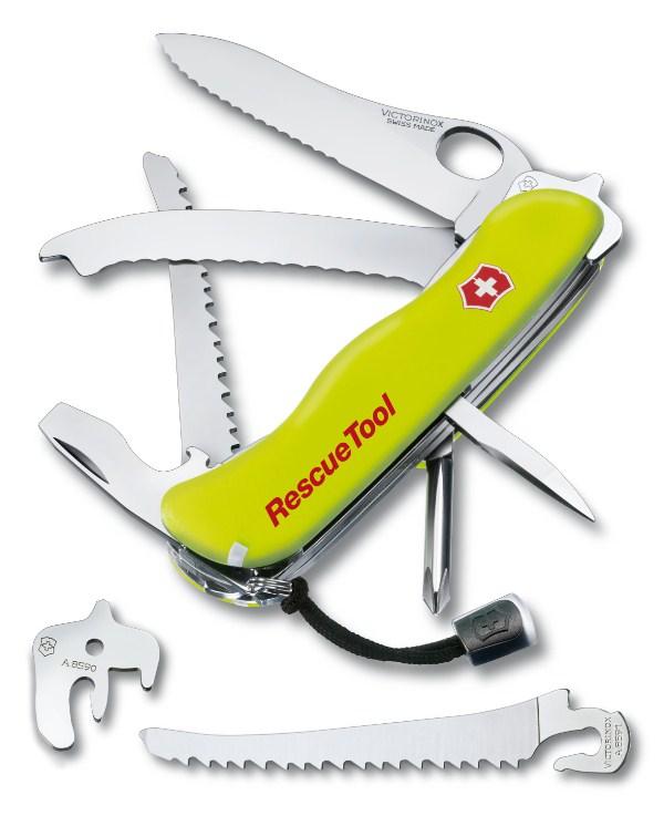 Dao Xếp Đa Năng Victorinox - Services Pocket Tools 0.8623.MWN RescueTool One Hand