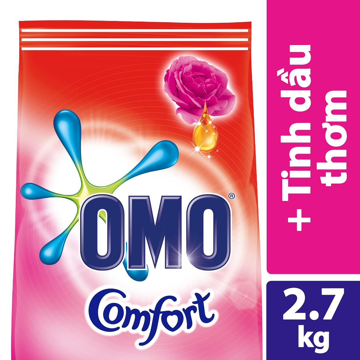 Bột Giặt Omo Comfort Tinh Dầu Thơm Diệu Kì 2.7kg – 67082020