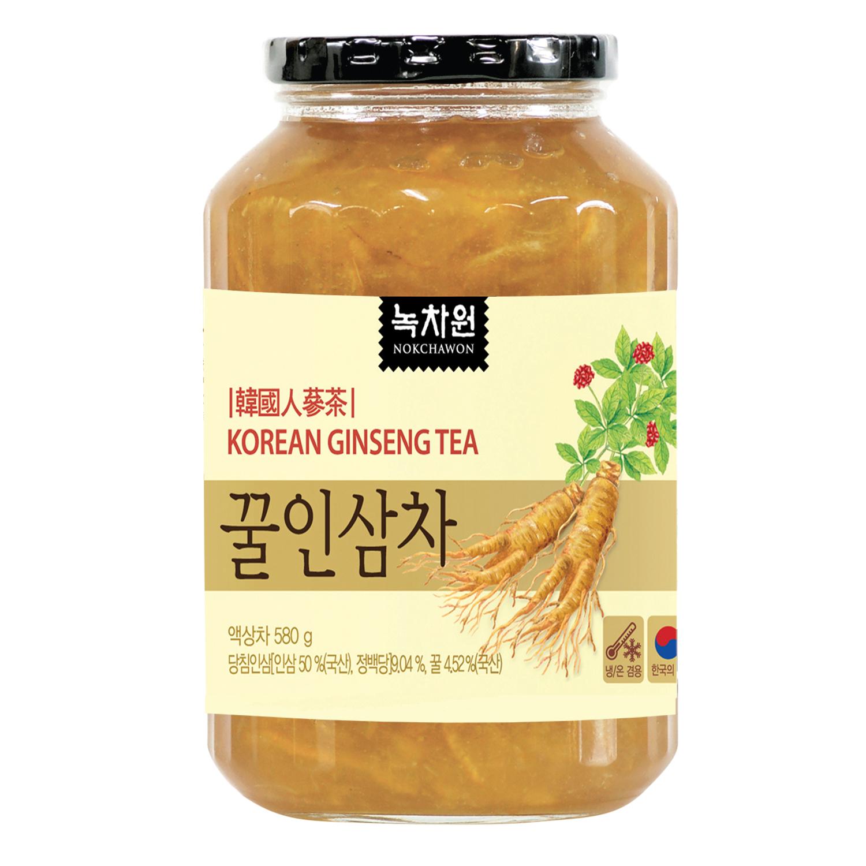 Trà Nhân Sâm Mật Ong Nokchawon Korean Ginseng Tea 580g