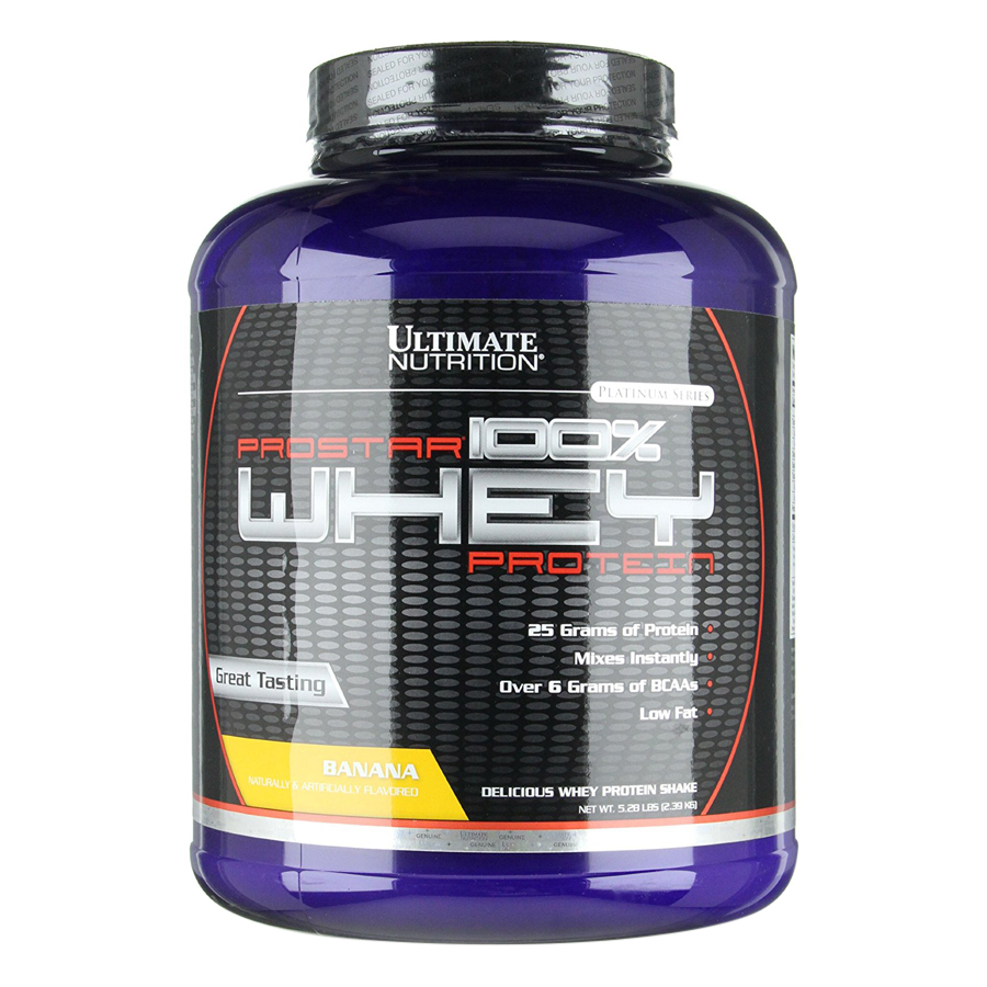 Sữa Tăng Cơ Vị Chuối Prostar 100% Whey Protein Ultimate Nutrition SMUN143 (2.39kg)