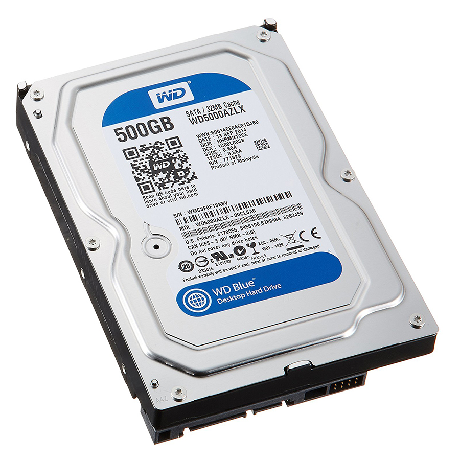 Ổ Cứng HDD WD Blue™ 500GB/32MB/7200rpm/3.5 - WD5000AZLX