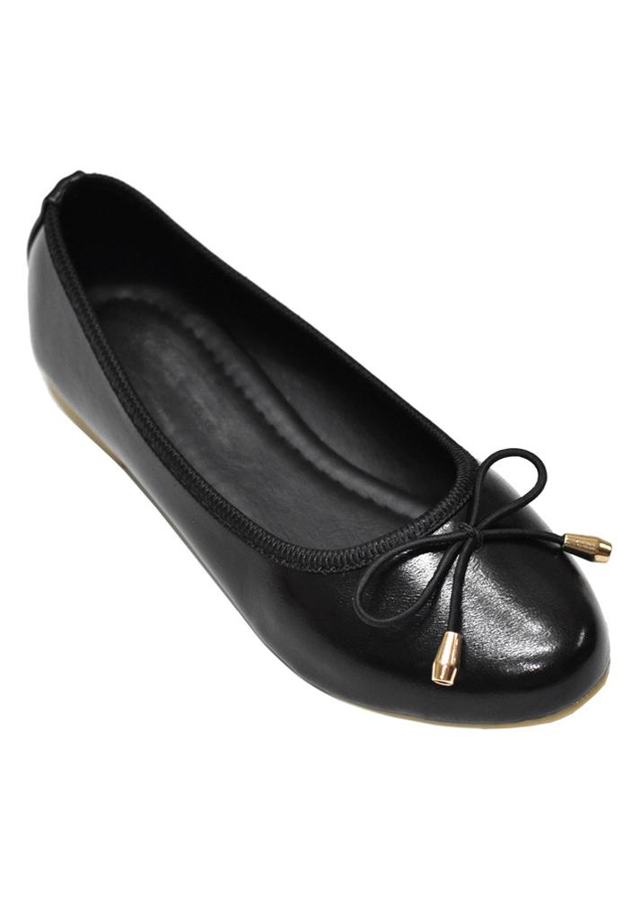 Giày Búp Bê Nơ Me Girl 92274 - Đen