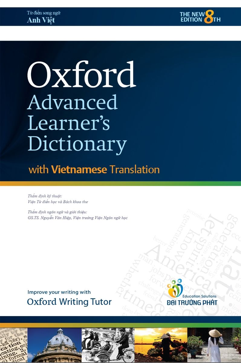 Oxford Advanced Learner's Dictionary  (With Vietnamese Translation) - Paperback