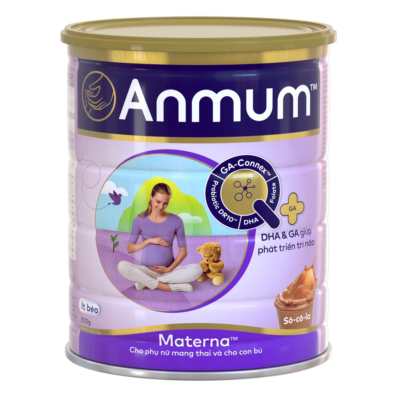 Sữa Bột Dành Cho Mẹ Bầu Anmum Materna Hương Chocolate 800g