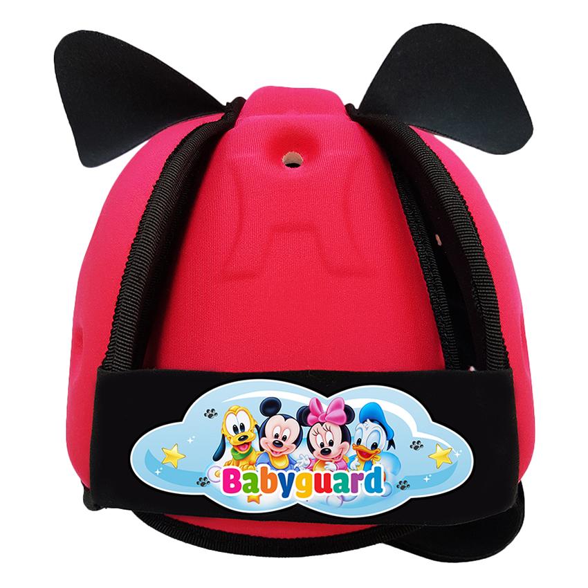 Nón Bảo Vệ Đầu Cho Bé Babyguard Mickey BB_MK_Hong (Hồng)