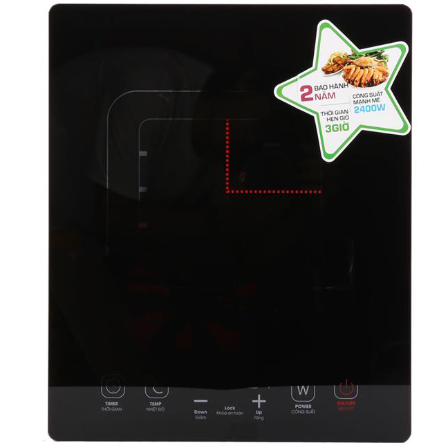 Bếp Từ KORIHOME ICK-356-BK + Nồi dùng cho bếp từ HP-388