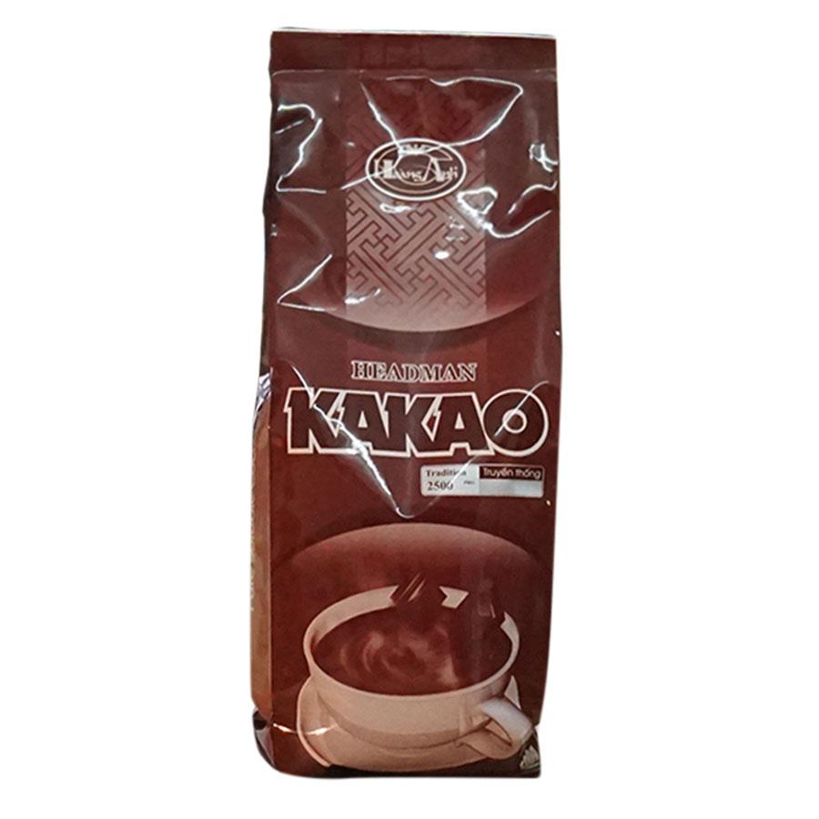 Bột Cacao Headman 2 In 1 Túi Thiếc (500g)
