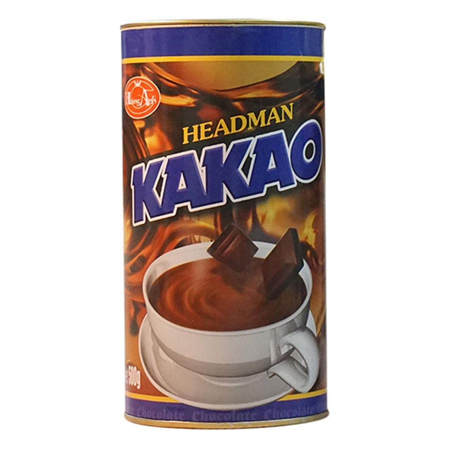 Bột Cacao Headman 2 In 1 Hộp Tròn (500g)