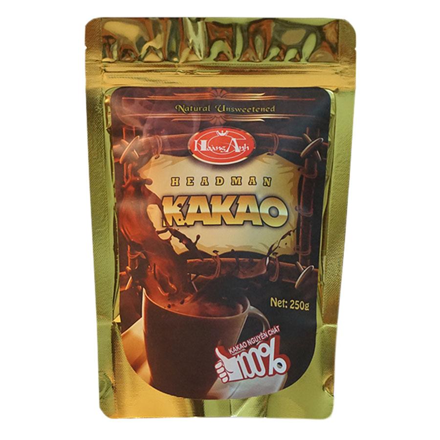 Mua Bột Cacao Headman Nguyên Chất Túi Zipper (250g)
