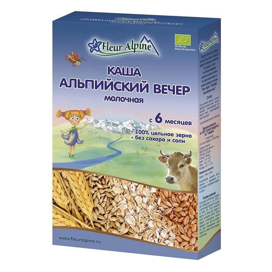 Bột Pha Sữa Organic Đêm Alpine Fleur Alpine (200g)