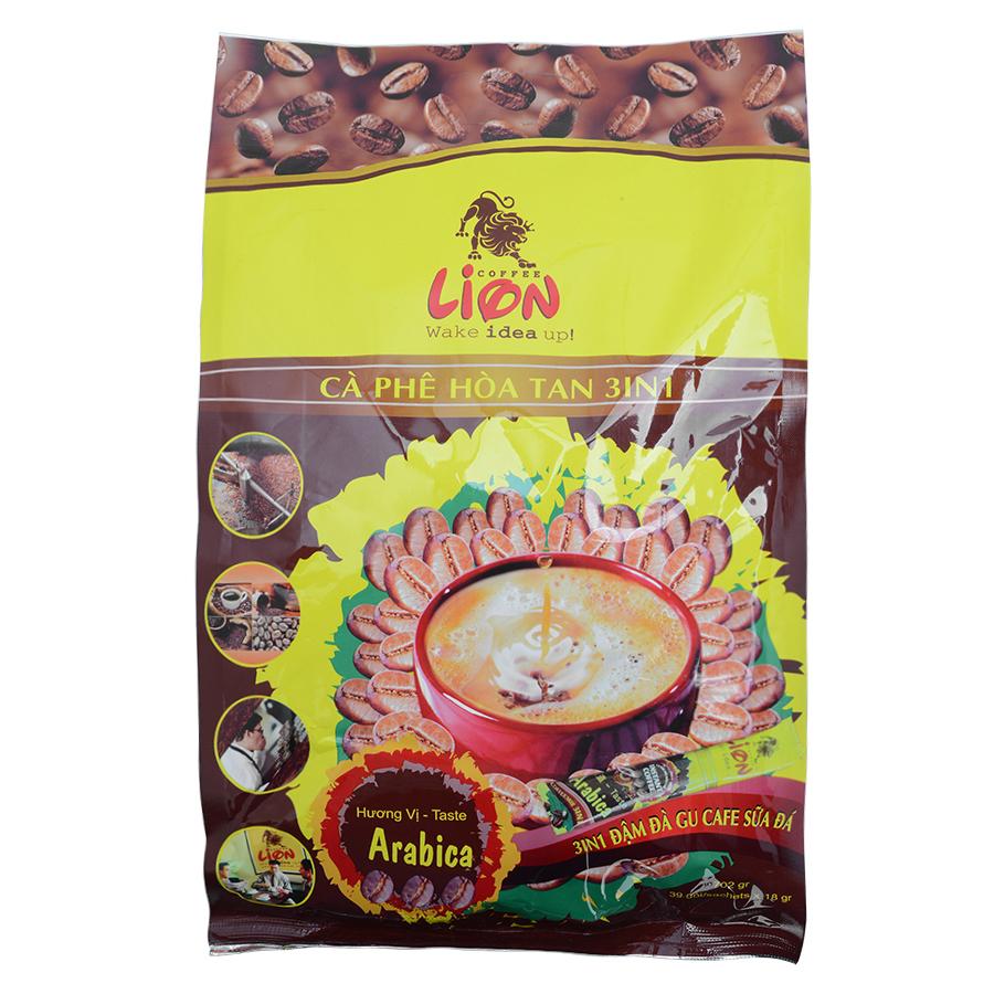 Cà Phê Hòa Tan 3 Trong 1 Lion Coffee (39 gói x 18g)