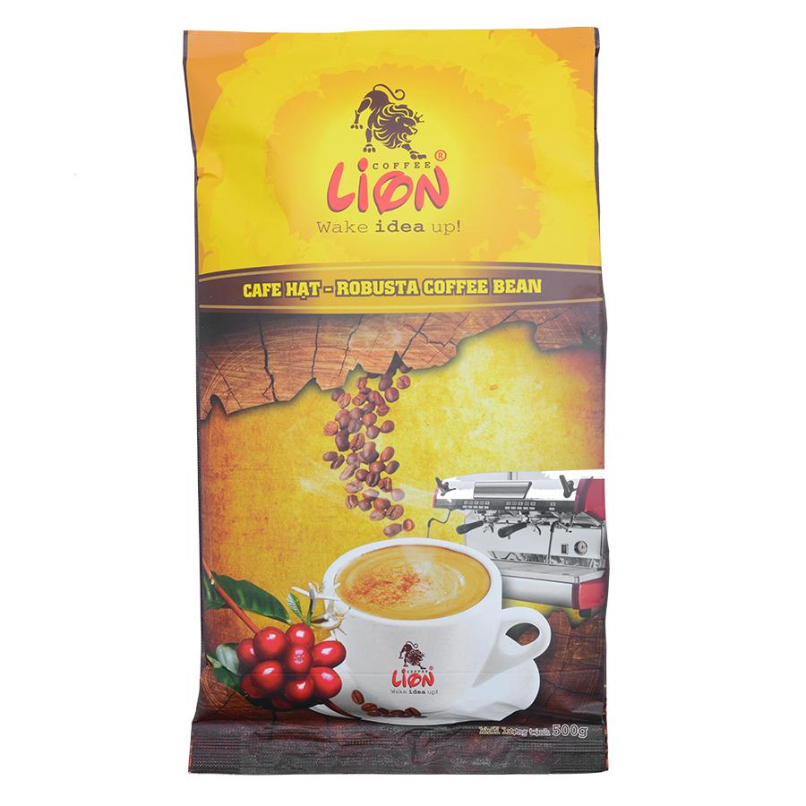 Cà Phê Lion Coffee Hạt Robusta (500g)