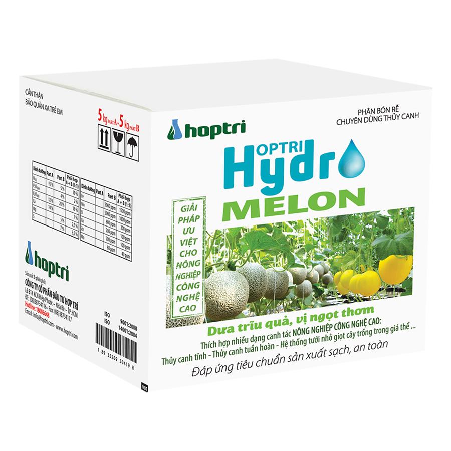 Dinh Dưỡng Thủy Canh Dưa Lưới Hydro Leafy Hfarm-008 (10kg)