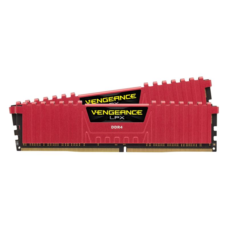 RAM Corsair Vengeance LPX (2 x 8GB) 16GB DDR4 2133 C13 RED - CMK16GX4M2A2133C13R