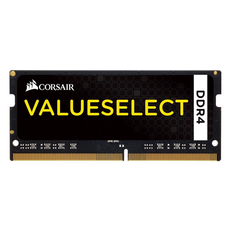 RAM Corsair Value 8GB 2133 DDR4 C15 SO DIMM - CMSO8GX4M1A2133C15