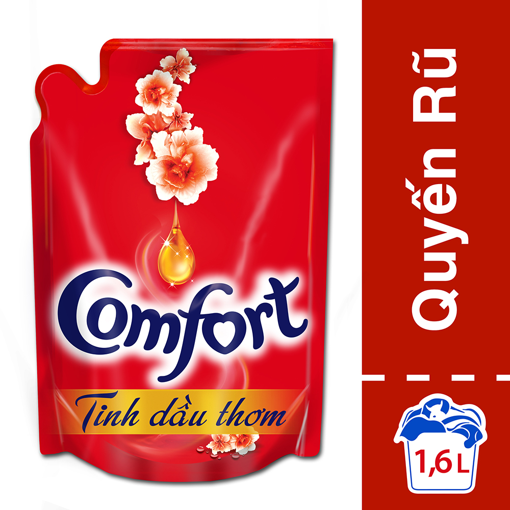 Comfort Đậm Đặc 1 Lần Xả Tinh Dầu Thơm Quyến Rũ 21118880 (1.6L)