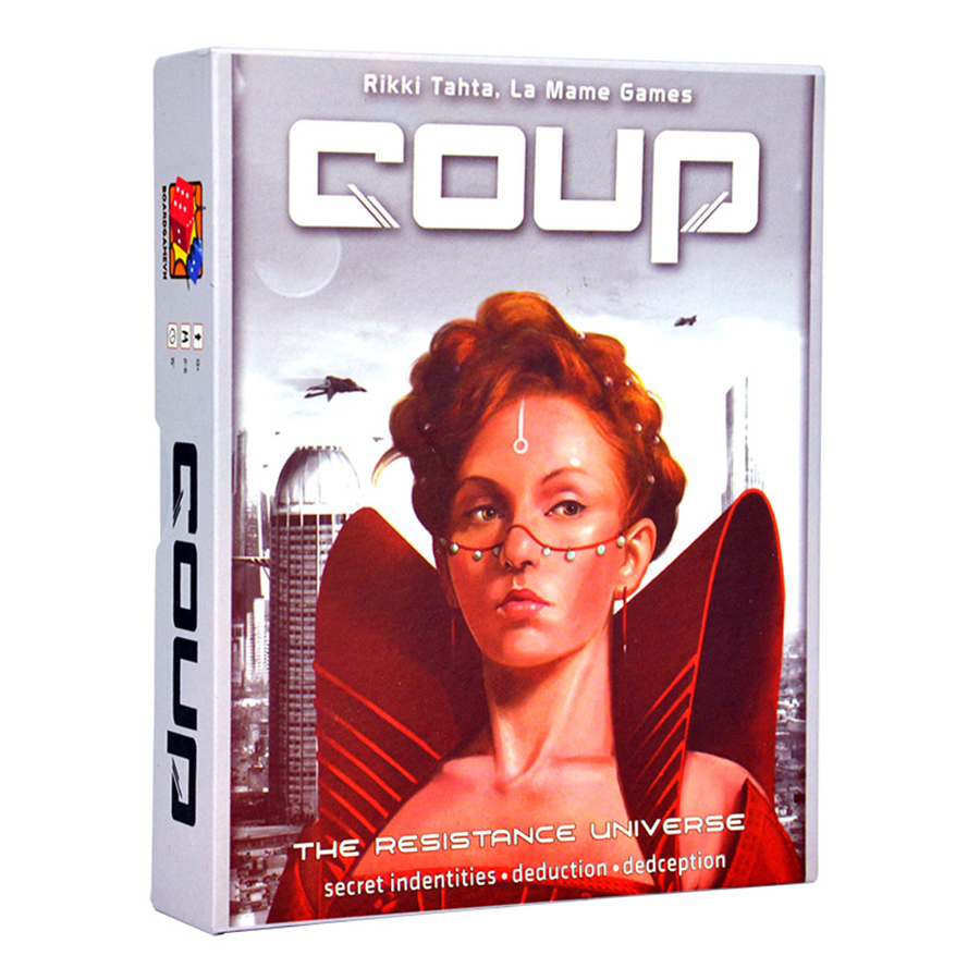 Boardgame Cuộc Chiến Quyền Lực Coup