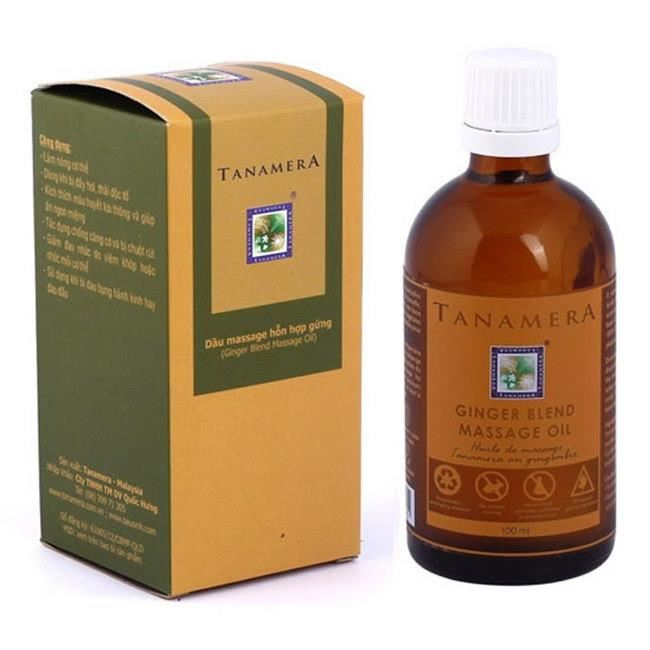 Dầu Massage Gừng Tanamera TN07-R001 (100ml)