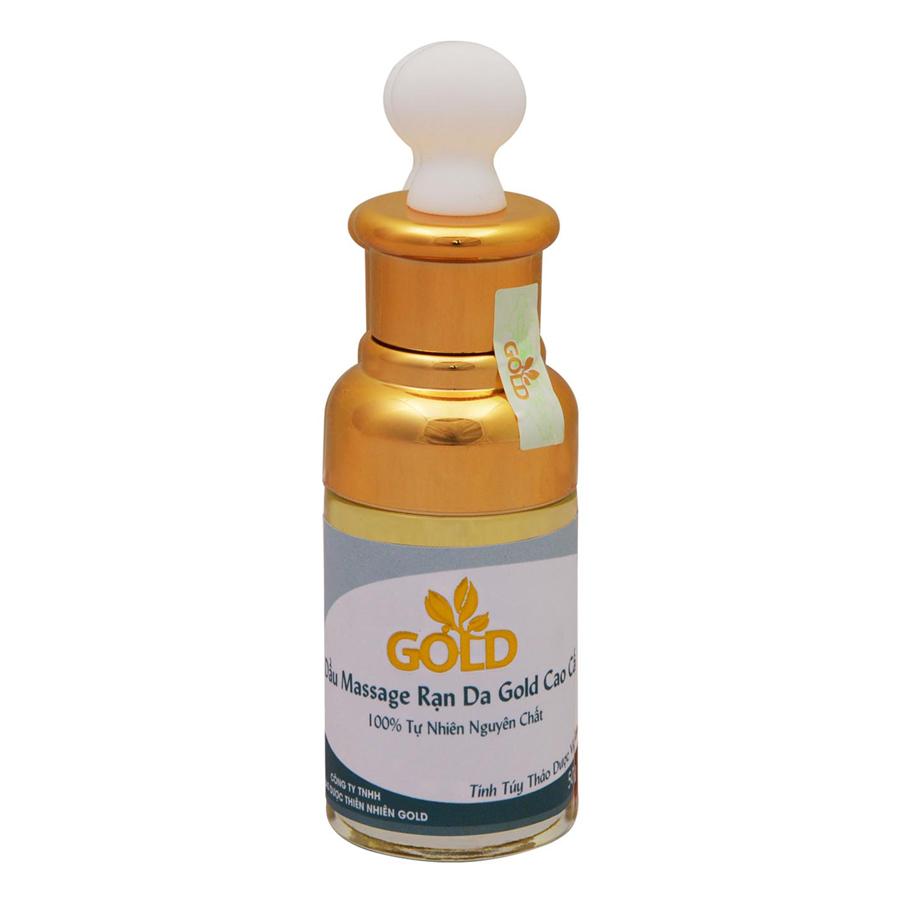 Dầu Massage Rạn Da Gold Cao Cấp (50ml)